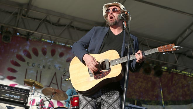 Rusted Root with lead singer Michael Glabicki are back to headline the Rochester Lilac Festival. The popular jam band will perform on May 17.