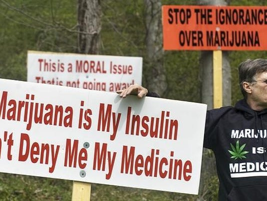 Results of a new study are giving hope to those seeking to legalize medical marijuana.