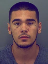 Zachary Adrian Zamora, photo from El Paso Most Wanted in July, 2017.