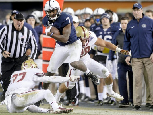 Geno Lewis has had his share of big moments, like the Pinstripe Bowl last December. The Lions now need him to be a more consistent threat down the stretch.
