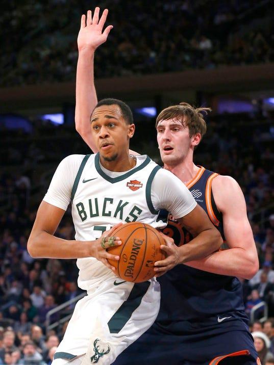 NBA: Milwaukee Bucks at New York Knicks