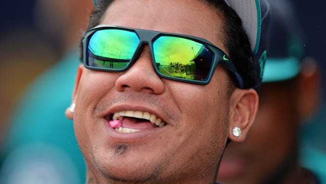 Felix Hernandez is the highest paid Mariner and is ranked seventh among MLB players