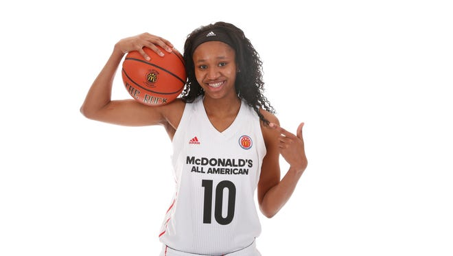 McDonalds All-American forward Sidney Cooks from Kenosha St. Joseph.