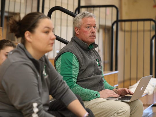 Irvington High School Athletic director Artie McCormack during the 9th Annual Autism Classic at Irvington High School, Jan. 13, 2018.