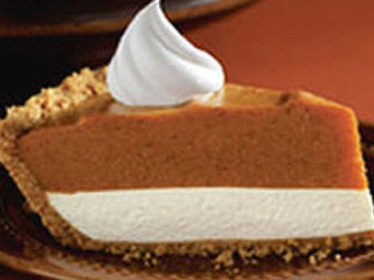 No-Bake Two-Layer Pumpkin Pie