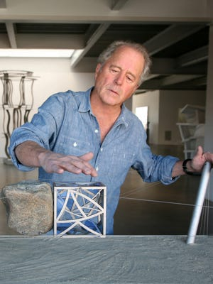 Eight sculptures by Don Gummer will be installed on the Indianapolis Cultural Trail.