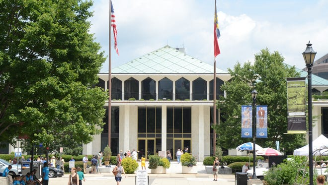 The General Assembly in Raleigh seen in this June 2013 photograph.