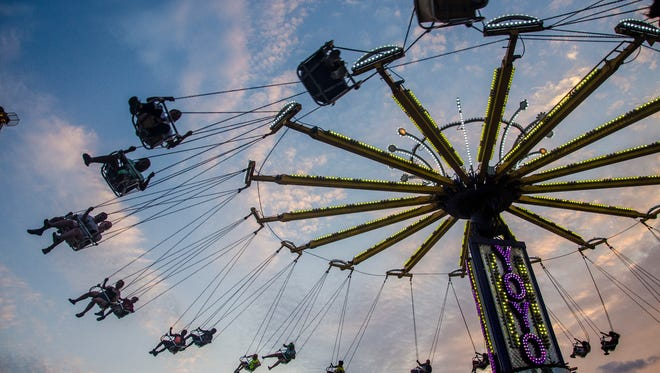 Dozens of different events take place at the Indiana State Fair Friday night. The Indiana State Fair sees hundreds of people every night at the midway with Friday and Saturday night being some of the most popular.