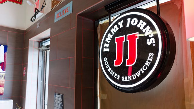 The new Jimmy John's at 3804 W. Bethel Ave.  is nearly customer-ready; the restaurant will have a drive-thru window, three booths and a bar-style seating area in front of the window.