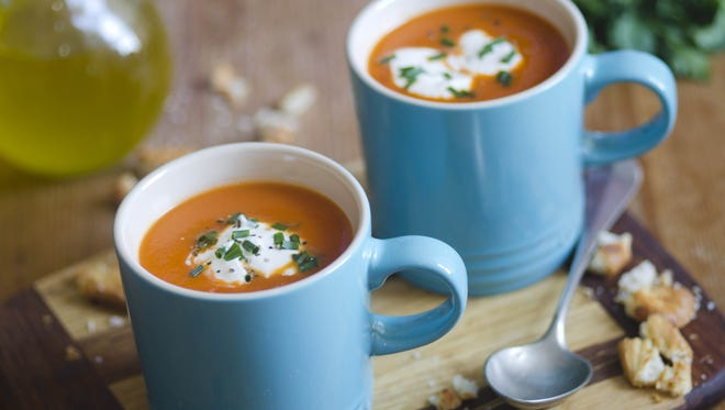 Winter soups are a great way to warm up and eat healthy.