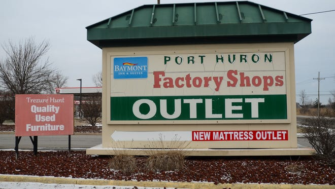 The Port Huron Factory Shops Outlet Mall could see a future as a slew of heated storage units.