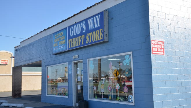 God's Way Thrift Store in Georgetown, Delaware.