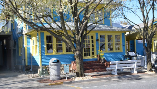 This Sears catalog home was turned into Blue Moon restaurant in Rehoboth Beach.