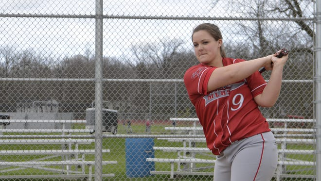 Manitowoc Lutheran senior softball player Riley Brice is this week's HTR Prep Profile.