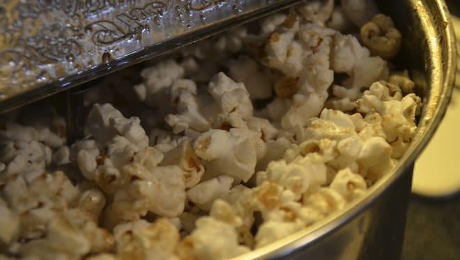 A stock image of kettle corn.