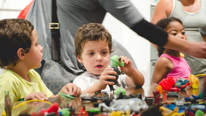 """The Michigan History Center and TinkrLAB have joined forces for a monthly """"maker"""" program for kids called Second Saturday."""