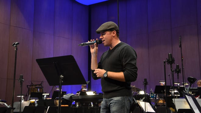 Singer Daniel Alan of Orlando Transit Authority will perform with the Brass Band of Battle Creek Saturday.