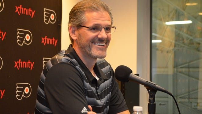 Flyers general manager Ron Hextall has 10 picks at the draft, including No. 18 in the first round.