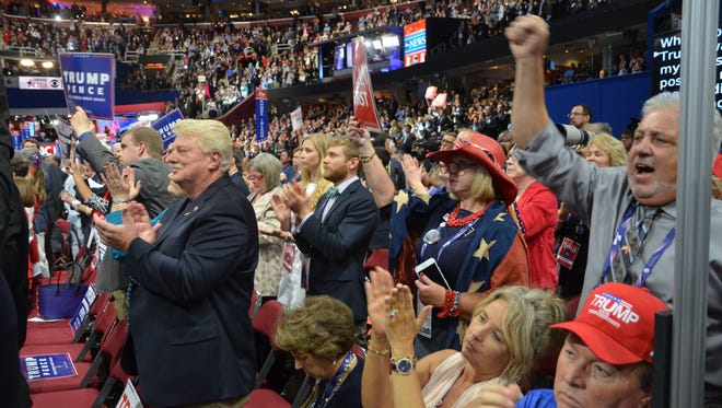 Although they weren't on their feet all night Wednesday at the Republican National Convention, Tennessee delegates generally praised the performance of vice presidential pick and Indiana Gov. Mike Pence.