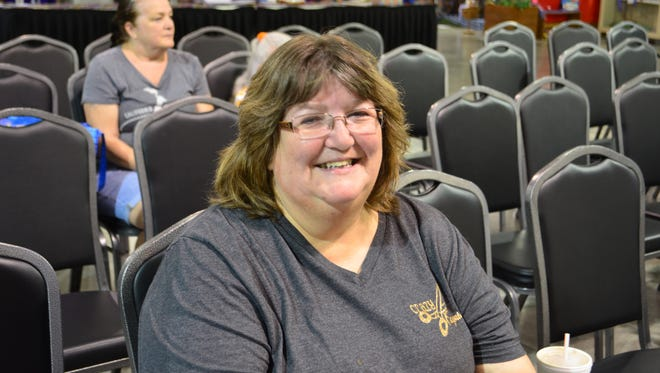 Suzy Bruner is one of the fair's serious cooking competitors: she entered 68 total competitions - 50 of those in food. So far, she has 33 ribbons to her name.