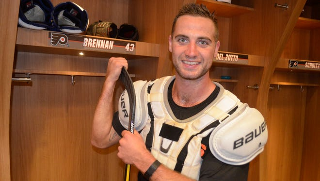 T.J. Brennan, a Moorestown native, will contribute his accounts to the Courier-Post twice a week through training camp.