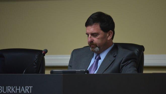 Ward 12 Councilman Jeff Burkhart