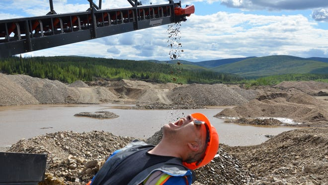 Dan Bova went gold mining with the Discovery Channel.