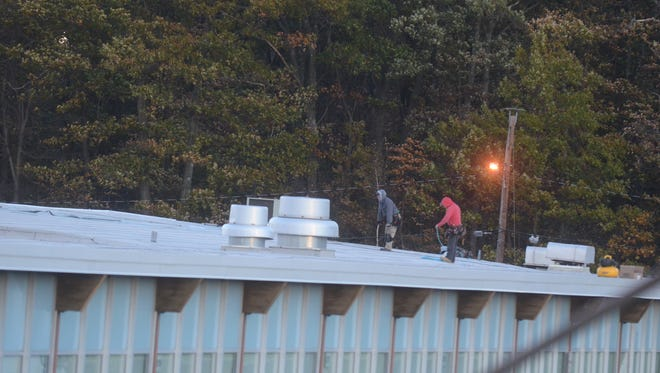 West Milford trustees have balked at a proposal to install solar panels on the high school roof.