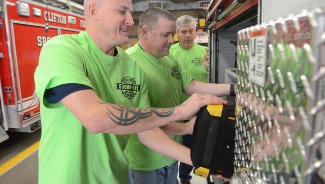 In an effort to debunk mental health myths, Clifton schools and firefighters joined county health officials in a week-long effort to raise awareness and funds.