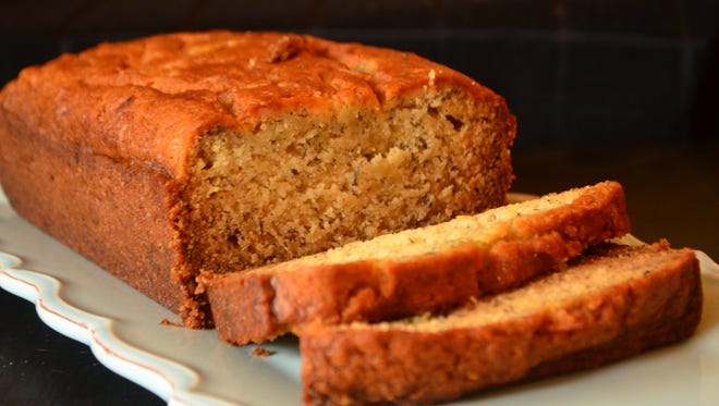 This banana bread is moist, delicious and dairy free. Bake this bread and give it as a gift or eat it Christmas morning.