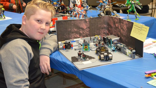 Kadin Sevene constructed a LEGO Batcave for last year's Cumberland County 4-H Brick Fair showcase.The fourth annual 4-H Brick Fair, It's a LEGOPalooza!, will be held from 11 a.m. to 1:30 p.m. Jan. 7 at Rutgers Cooperative Extension of Cumberland County, 291 Morton Ave., in Rosenhayn.