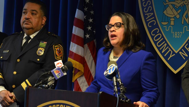 "Passaic County Prosecutor Camelia Valdes announces the completion of the """"Purge Investigation,"" a joint investigation by the Passaic County Prosecutor's Office Sexual Investigations Unit, the Passaic County Sheriff's Internet Crimes Against Children Task Force, and the Paterson Police Juvenile Detective Bureau into several internet social media host sites that received and displayed nude images of juveniles from Passaic County."