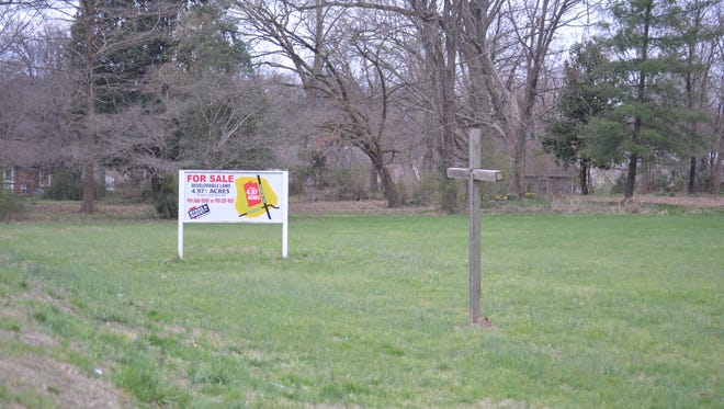 The Grace Bible Church property that may add 58 apartments on Peachers Mill Road