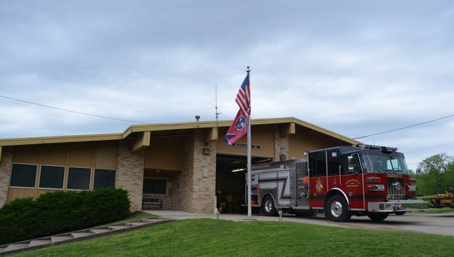 The original Hendersonville Fire Hall Station 2 had many structural damages, which is why the city approved to build a new, bigger and safer one.