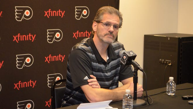Ron Hextall has a lot of business to tend to before free agency opens July 1.