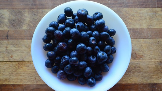 It's blueberry picking season and the farm also has a great restaurant which features its blueberries and shiitake mushrooms.