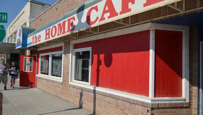 The Home Cafe in Conrad, where news of alleged domestic abuse by Pondera County Sheriff Carl Suta was the topic of the morning on Aug. 3.