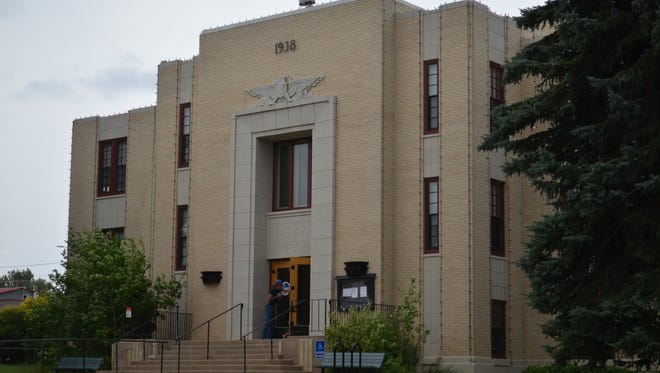 Glacier County Courthouse.