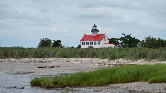 East Point Lighthouse is beaming with a bright white exterior and new red roof. Photo/Jodi Streahle