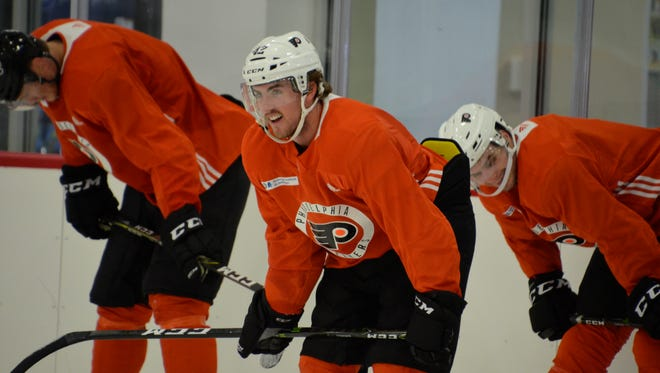 Cole Bardreau had 24 points in 72 games for the Lehigh Valley Phantoms last season.