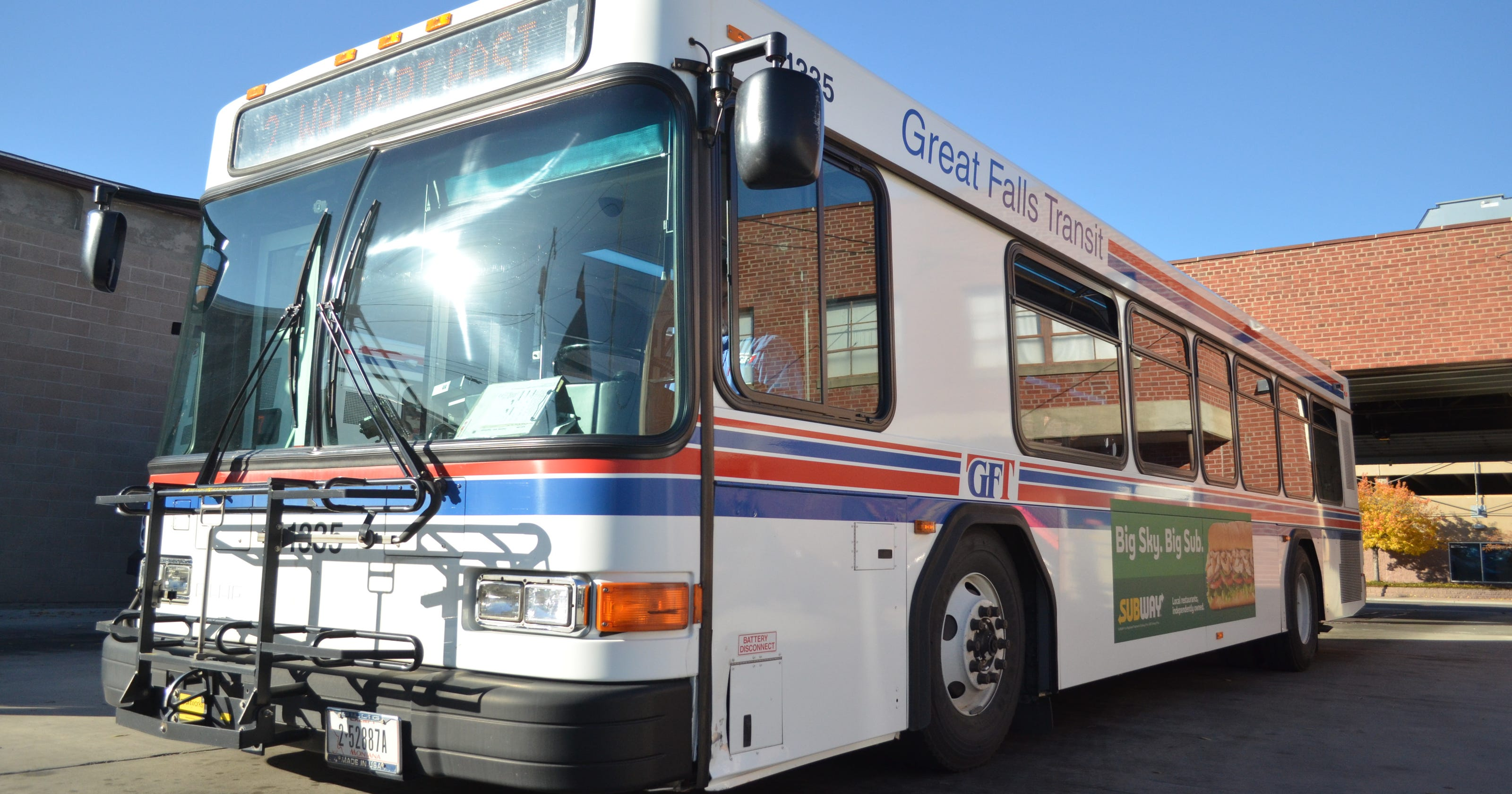 Great Falls Transit >> Veteran Free Bus Ride Program Saved By Donors