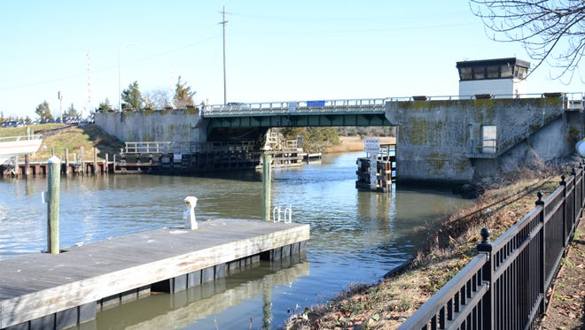 The bridge at Lewes-Rehoboth Canal in Lewes.