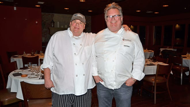 Chefs and brothers Robert (left) and David Burke will open Drifthouse Restaurant in March at the site of Ama Ristorante in Sea Bright.