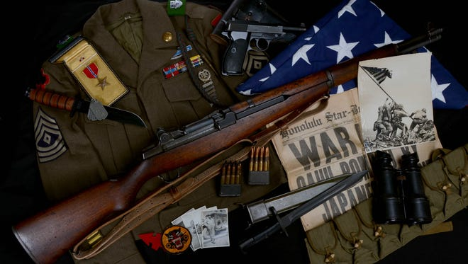 Found some cool war memorabilia in Grandpa's closet? Check with authorities before keeping it.