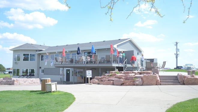 A view of the Rocky Run clubhouse after the renovations.