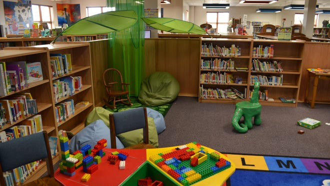 The Early Literacy Center at the Marathon County Public Library.