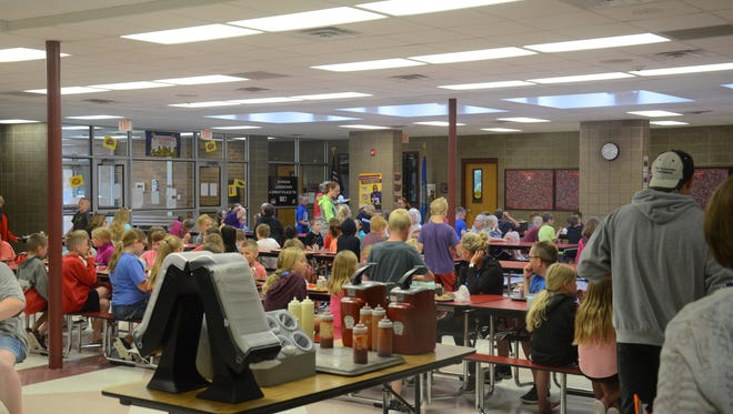 Kids eat for free all summer at the Brandon Valley Elementary School.