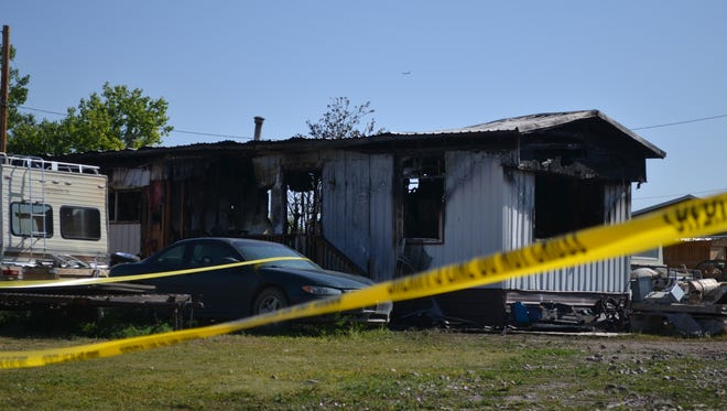 One person died in a structure fire on 19th Street South early Monday morning.