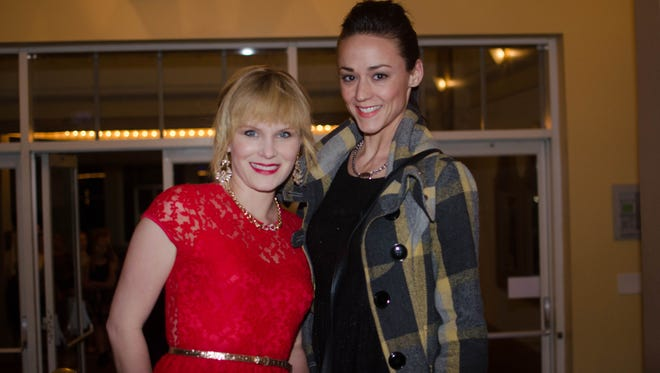 Heather Eaton and Dawn Hamil at So You Think You Can Dance.