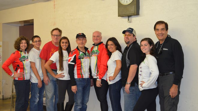 Volunteers helped refurbish and distribute bicycles to New Rochelle youngsters.